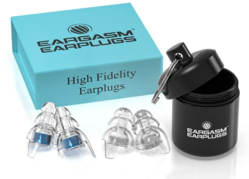 Eargasm High Fidelity Earplugs for Concerts Musicians Motorcycles Noise...