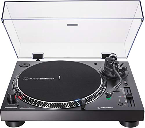 Audio-Technica AT-LP120XUSB-BK Direct-Drive Turntable (Analog & USB), Fully...