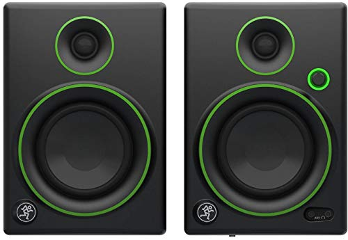 Mackie Creative Reference Multimedia Monitor (Set of 2), Black w/green trim,...