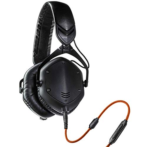 V-MODA Crossfade M-100 Over-Ear Noise-Isolating Metal Headphone (Matte Black...