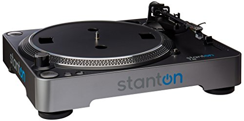 Stanton T62 Straight Arm Direct-Drive DJ Turntable with 300 Cartridge...