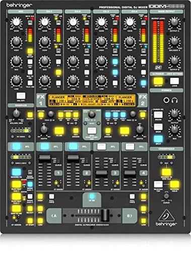 Behringer Digital Pro Mixer DDM4000 Ultimate 5-Channel Digital DJ Mixer