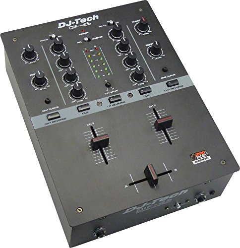DJ TECH DJTECH NEW MIXER WITH INNO FADER