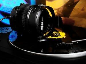 Pair of DJ Headphones